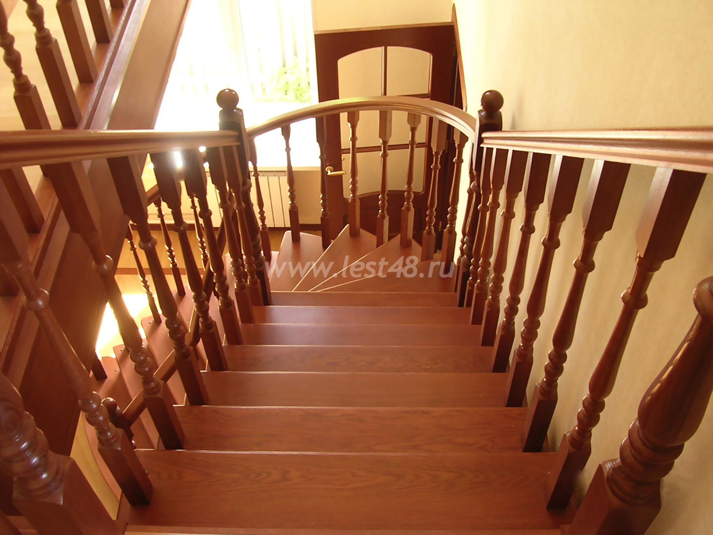 Лестница в частном доме своими руками Строительный портал 9