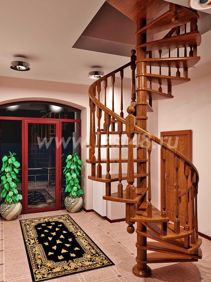Винтовые лестницы на второй этаж в частном доме своими руками фото цены